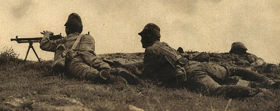 Japanese troops with a ZB26 in China, 1937