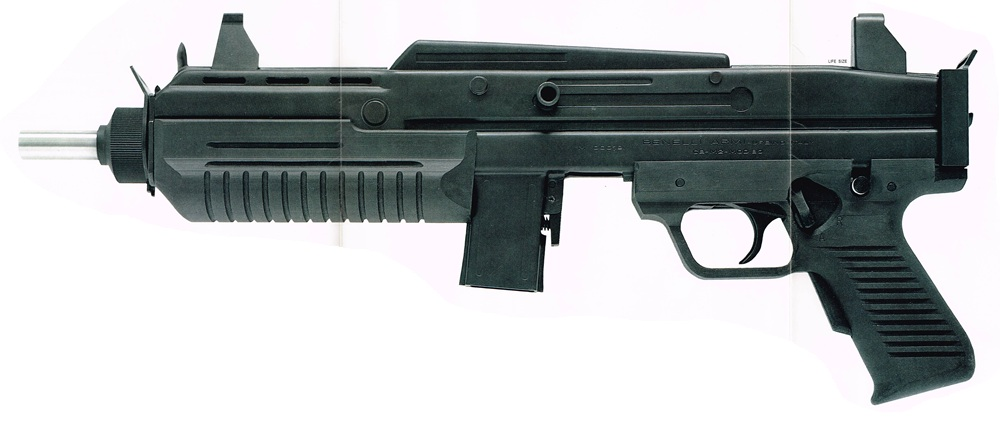 Benelli CB-M2 submachine gun
