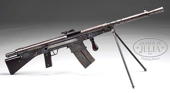 "M1918 CSRG ""Chauchat"" in .30-06 caliber: arguably the Worst Gun Ever"
