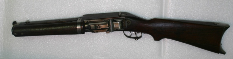Prototype 1919 Furrer submachine gun