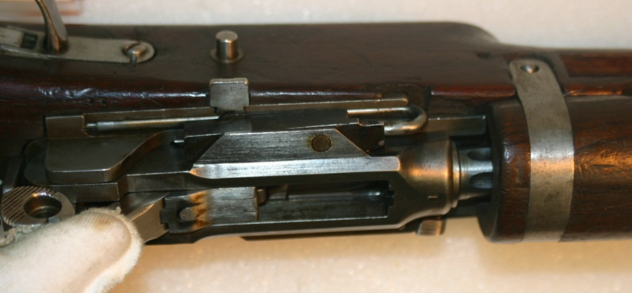 Prototype 1919 Furrer action open