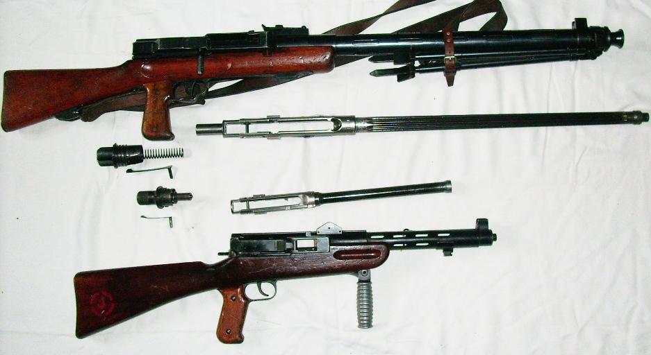 Swiss LMG25 and MP41/44