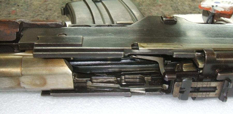 Kiraly 1935 experimental LMG, inside