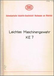 Leichtes Maschinengewehr KE7 (German)