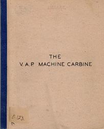 The VAP Machine Carbine (English, 1944)