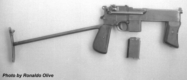 Second variant of Brazilian PASAM Broomhandle Mauser