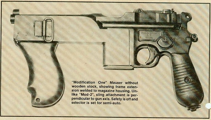 First variant of Brazilian PASAM machine pistol