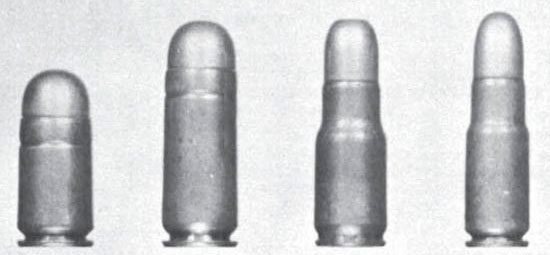 Mars pistol cartridges