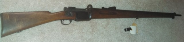 Mondragon 1894 bolt action rifle