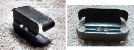Mondragon 1894 6-round en bloc clip for 5.2x68mm ammunition