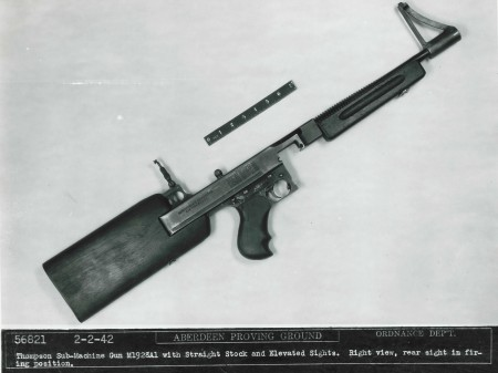 Thompson SMG in experimental stock
