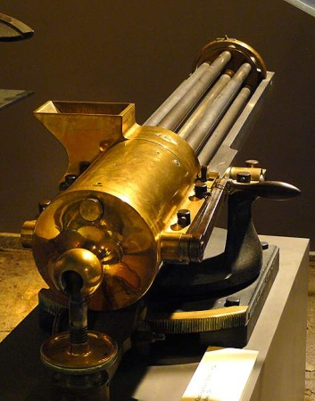 Model 1862 Gatling Gun