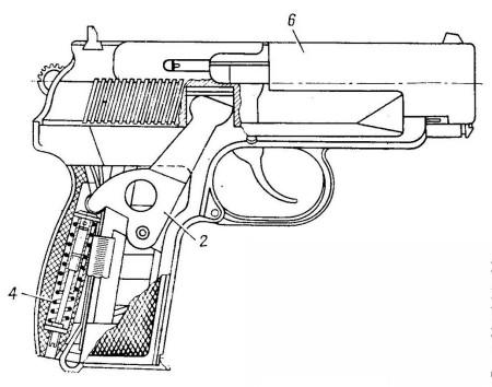 Russian 9mm PB Silenced Pistol
