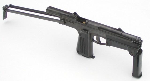 "PM-63 ""Rak"" machine pistol"