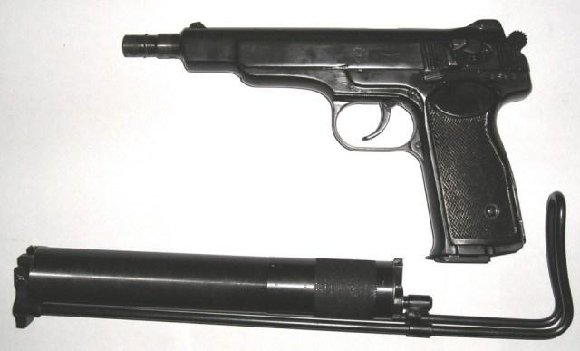 Soviet APB silenced machine pistol