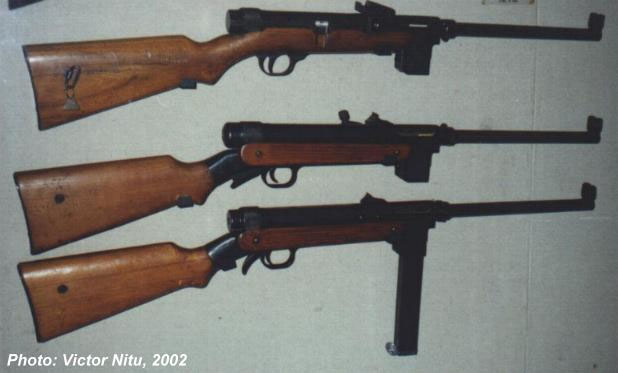 Romanian Orita sunmachine guns