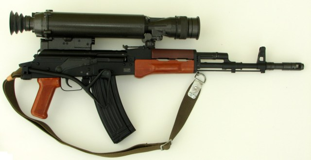 Tantal with NSP-3 night vision scope
