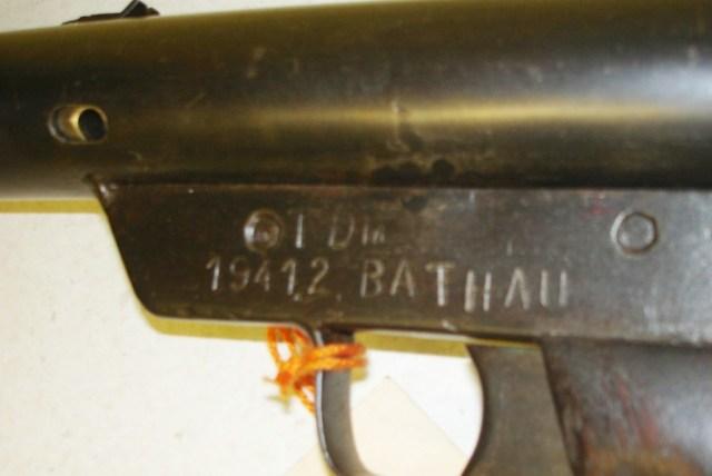 Polish resistance Sten markings