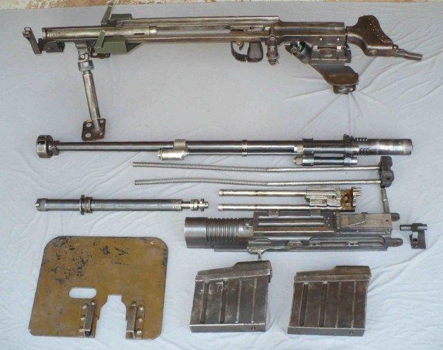Japanese Type 97 field stripped