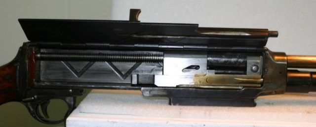 Brondby rifle sideplate open