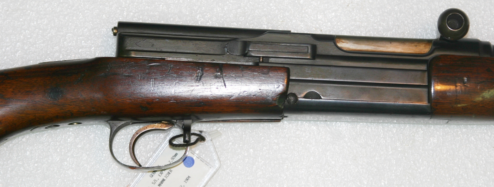 Mannlicher 1905 Experimental Self-Loading Rifle – Forgotten