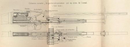 Darne Mle1923 cutaway view