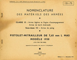 MAS38 Nomenclature