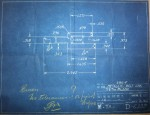 Colt MG40 link flat blueprint