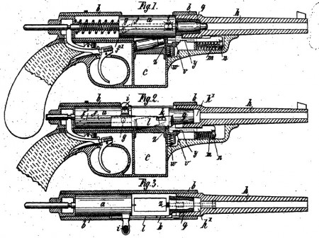 Clausius 1900 patent drawings