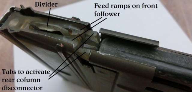 Springfield SPIW tandem magazine followers and feed lips