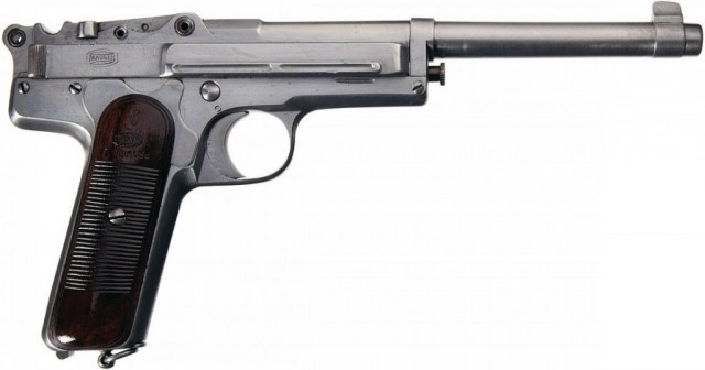 Chinese mystery pistol, right