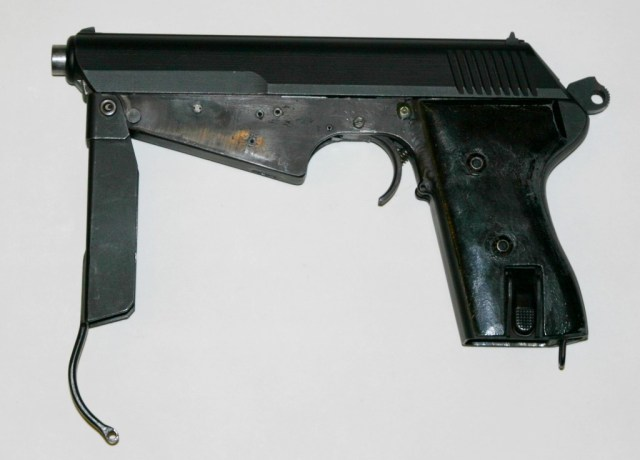 Full auto conversion of vz.52 pistol (Henk Visser collection)