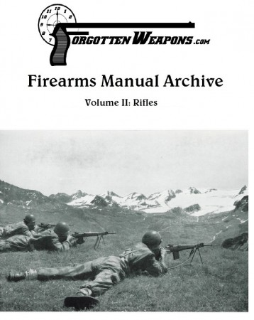 Forgotten Weapons Manual Archive DVD - Volume II: Rifles