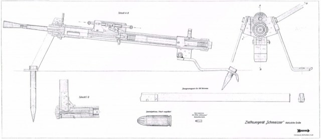 ZfG Schmeisser 9mm training machine gun