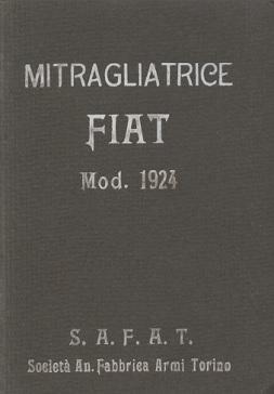 Mitragliatrice Fiat Modelo 1924 Manual (Italian)