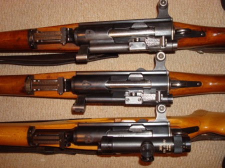 Swiss sniper rifles - K31/42 and ZfK-55