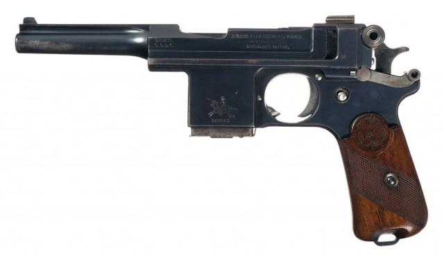 AEP Bergmann-Bayand 1908 pistol