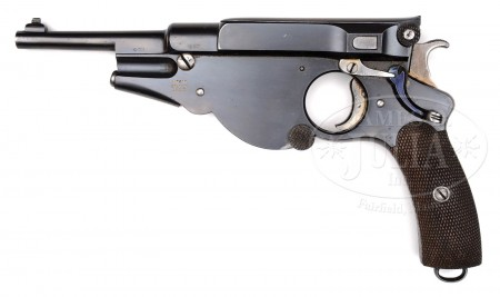Early Bergmann No.3 pistol