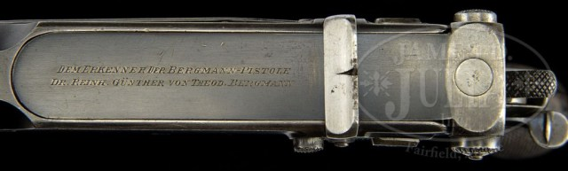 Bergmann 1897 sliding dust cover