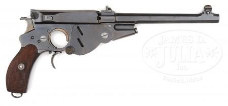 Target model Bergmann No.3 pistol