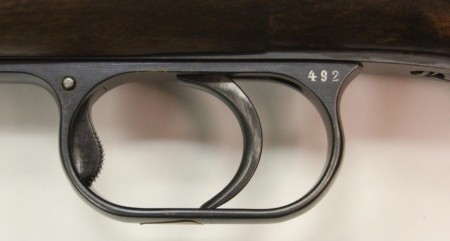 Mauser M1915 trigger guard and release