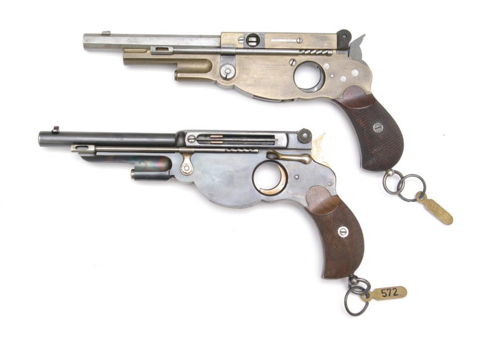 Bergmann-Schmeisser prototype pistols, RUAG collection