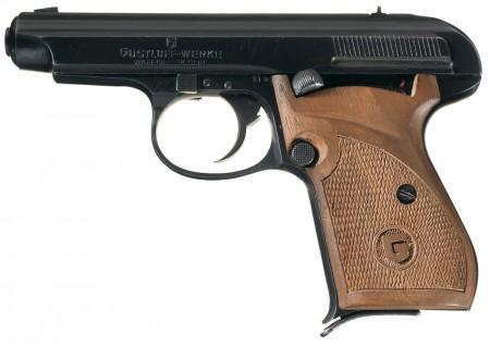 Gustloff prototype .32ACP blowback pistol
