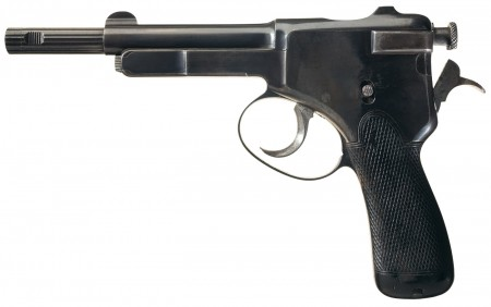 Krnka model 1895 self loading pistol