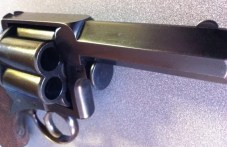 Six-shot Tranter revolver in .577 caliber