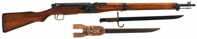 Japanese Type 2 Paratrooper rifle