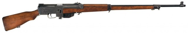 Prototype semiauto rifle with Ross parts
