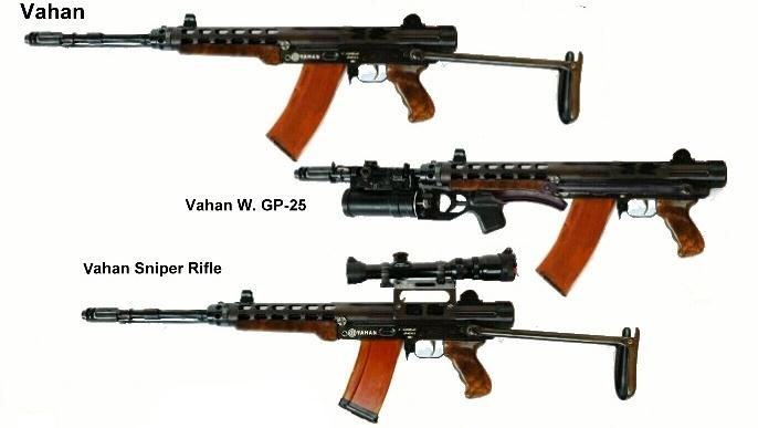 Vahan rifle variations
