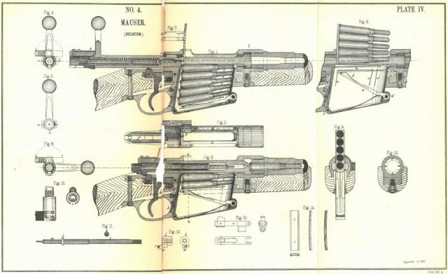 Mauser cutaway diagram