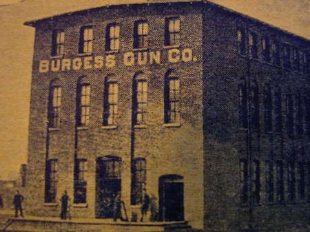 Burgess Gun Company factory, circa 1893